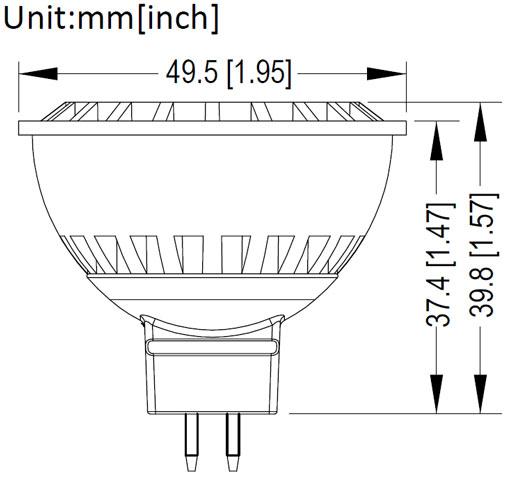E9551 MR16